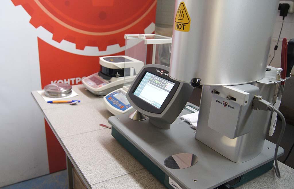 Измерение технологических свойств полимеров